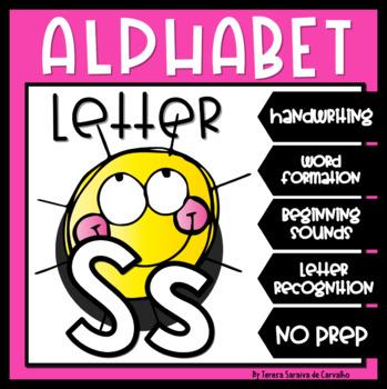 ALPHABET - LETTER S