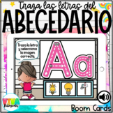 ALPHABET LETTER TRACE BOOM CARDS (SPANISH) Distance learning