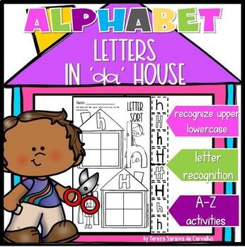 ALPHABET - LETTERS 'IN DA HOUSE' - SINGLE LETTER PRACTICE