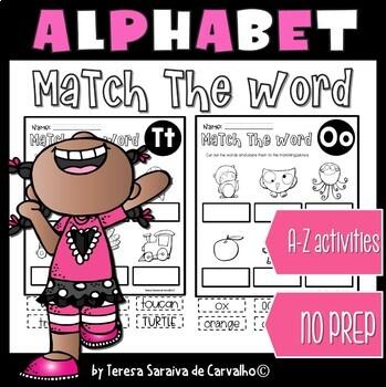 ALPHABET - MATCH THE WORD