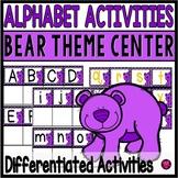 Alphabet Sorting Mats and Activities