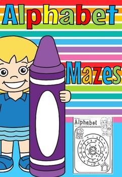 ALPHABET MAZE(FREE SAMPLE)