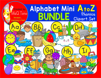 ALPHABET MINI BUNDLE cliparts
