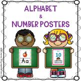 ALPHABET & NUMBER POSTER ACTIVITIES