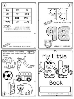 ALPHABET BOOKS-ONE PAGE FOLD-ABLE LETTER BOOKS  (U.S & UK SPELLING)