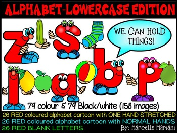 ALPHABET LETTER PEOPLE LOWER CASE CARTOON CLIP ART GRAPHICS