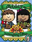 ALPHABET PIE {Thanksgiving A to Z Posters, Vocabulary Cards, Beginning Sounds}