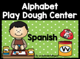 ALPHABET PLAY DOUGH CENTER in Spanish *KINDERGARTEN*
