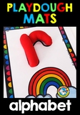 ALPHABET PLAYDOUGH MATS (BEGINNING SOUNDS CENTER)