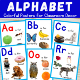 Alphabet Posters for Classroom Decor