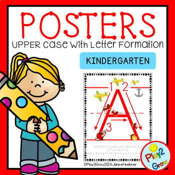 Alphabet Upper Case Posters