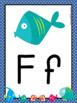 ALPHABET POSTERS:  FISH THEME