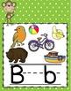 ALPHABET POSTERS: Monkey Alphabet Posters