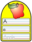 ALPHABET PRACTICE - 26 pages Wipe and Write Series - At home Distance Learning