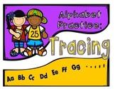 ALPHABET PRACTICE: Tracing