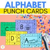 ALPHABET PUNCH CARDS  |  Fine Motor Activity