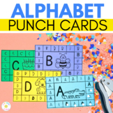 ALPHABET PUNCH CARDS  |  Fine Motor Activity