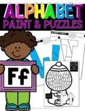 ALPHABET: Paint & Puzzles