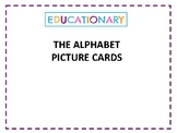 ALPHABET (Cursive Writing)- Picture cards