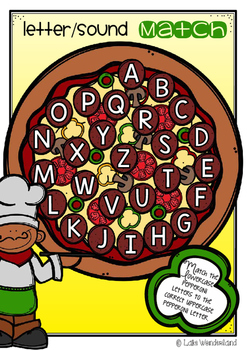 ALPHABET SEQUENCING - PEPPERONI PIZZA PUZZLE