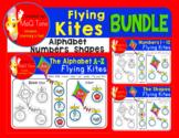 ALPHABET - SHAPES - NUMBERS  FLYING KITES  BUNDLE