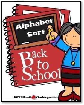 ALPHABET SORT (BACK TO SCHOOL)