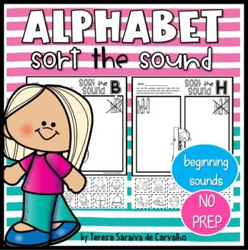 ALPHABET - SORT THE SOUND - SINGLE LETTER PRACTICE