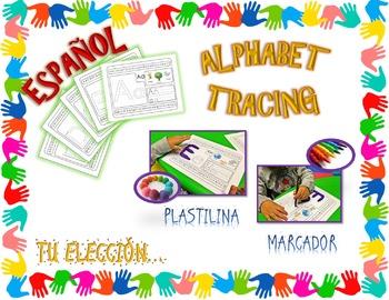 ALPHABET TRACING - ESPAÑOL