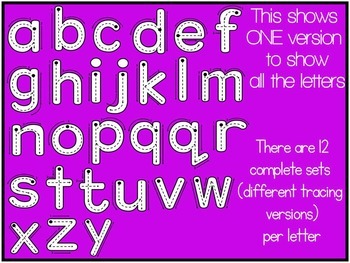 ALPHABET TRACING LETTERS- Correct Letter Formation Clip art (676 IMAGES)