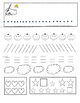 ALPHABET TRACING TRACE LINES SHAPES CURVE STRAIGHT FUN