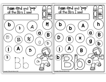 ALPHABET WORKSHEETS- letter tracing, recognition and ...