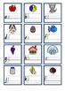 ALPHABET mini handwriting cards in FOUNDATION FONT