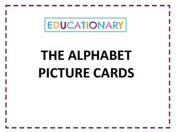 ALPHABET - picture cards