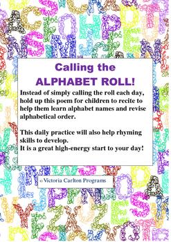 ALPHABETICAL ORDER ROLL