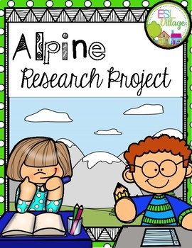 ALPINE Research/Report Project Booklet