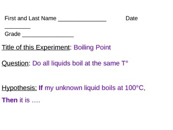 ALesson 15 Boiling point Lab