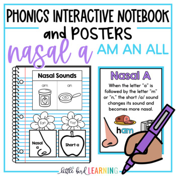 AM AN ALL Interactive Notebook Activities and Posters