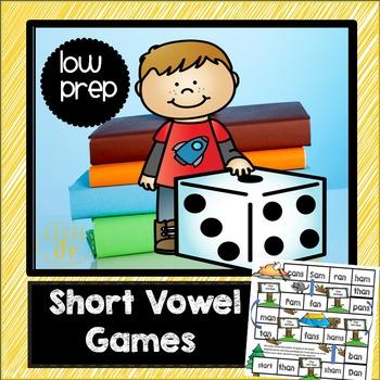 AM, AN, ING, ANG, INK, ING Short Vowel Games