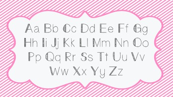 AM Blocky Lines Font - Commercial Use