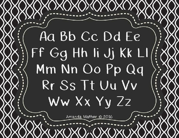 AM Chalkboard Font - Commercial Use
