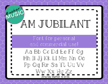 AM Jubilant - Commercial Use