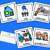 AM PM Home / School Calendar - Boardmaker Visual Aids for Autism SPED