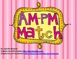 AM PM Match Cards