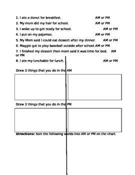 AM & PM Practice Questions