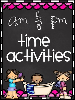 AM PM Time Activities