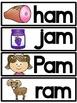 -am Word Family Cards FREEBIE