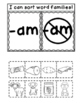 AM Word Family Interactive Notebook