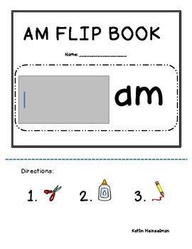 AM Word Family Mini Literacy Unit