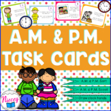 AM and PM Activities and Time Sort