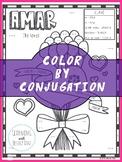 Spanish Verb Conjugation Worksheet   AMAR